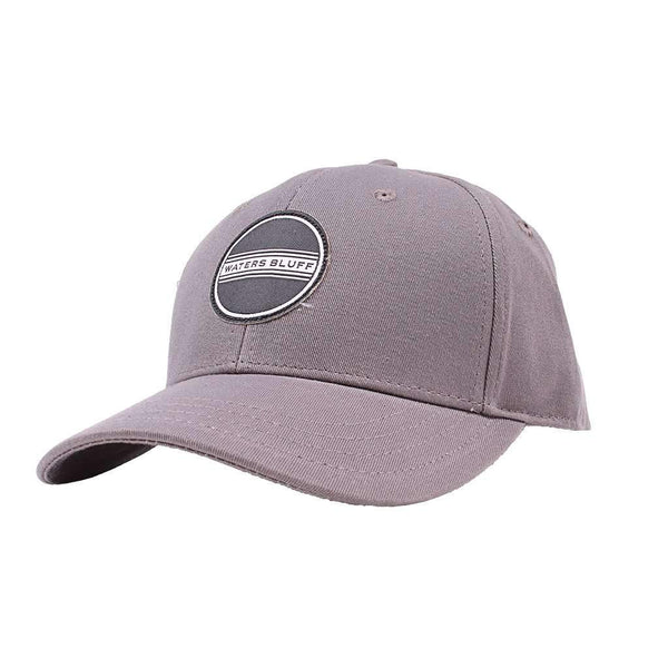 Waters Bluff Simple Patch Hat in Charcoal