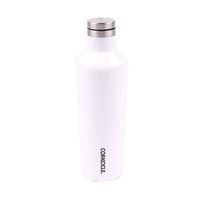 Auburn Logo 16 Oz. Canteen in Gloss White by Corkcicle