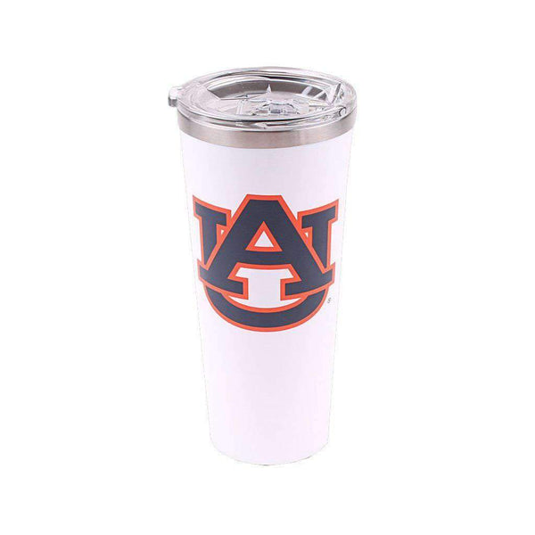 Auburn Logo 24oz Tumbler in Gloss White by Corkcicle