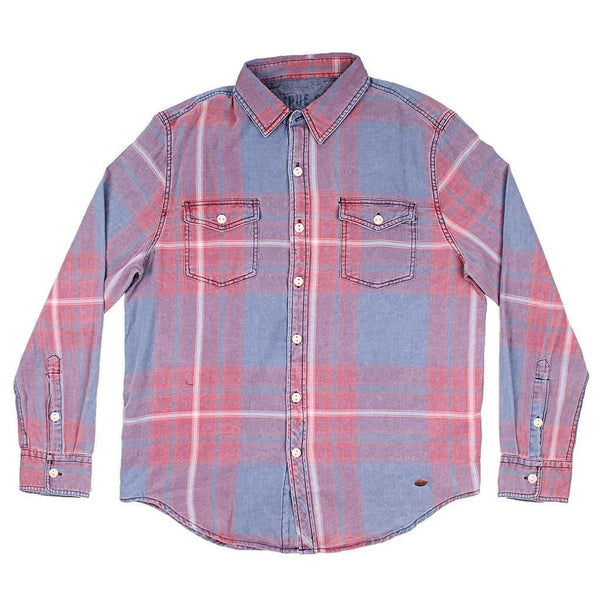 Starfire Long Sleeve 2 Pocket Shirt in Indigo by True Grit