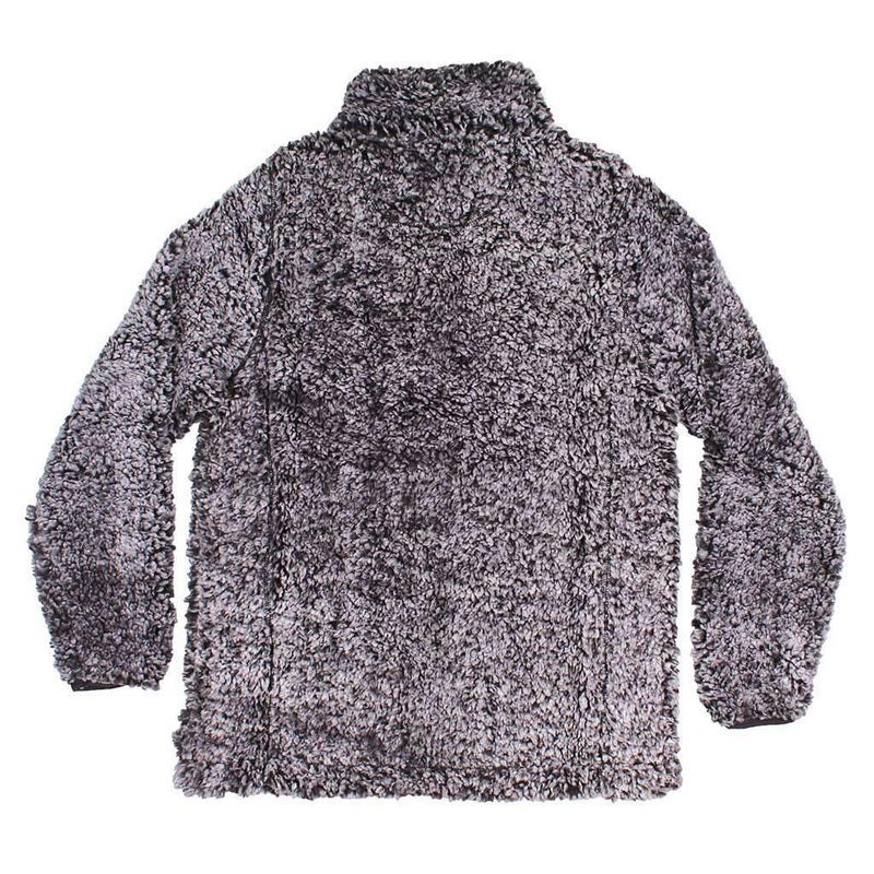 Nordic Fleece The Victoria Sherpa Pullover in Black by Nordic Fleece