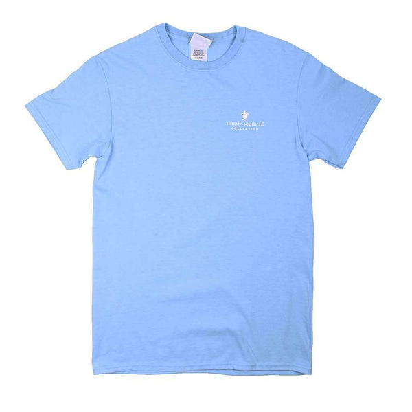 Simply Southern Preppy Strong Tee in Blues by Simply Southern