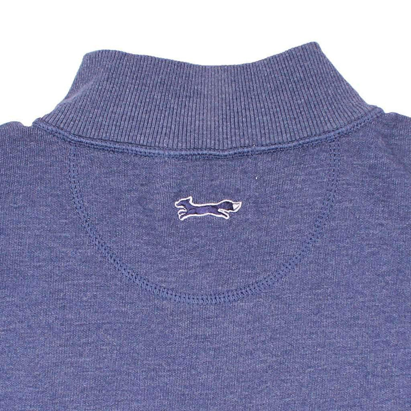 Longshanks Knit 1/4 Pullover in Navy by Country Club Prep - FINAL SALE
