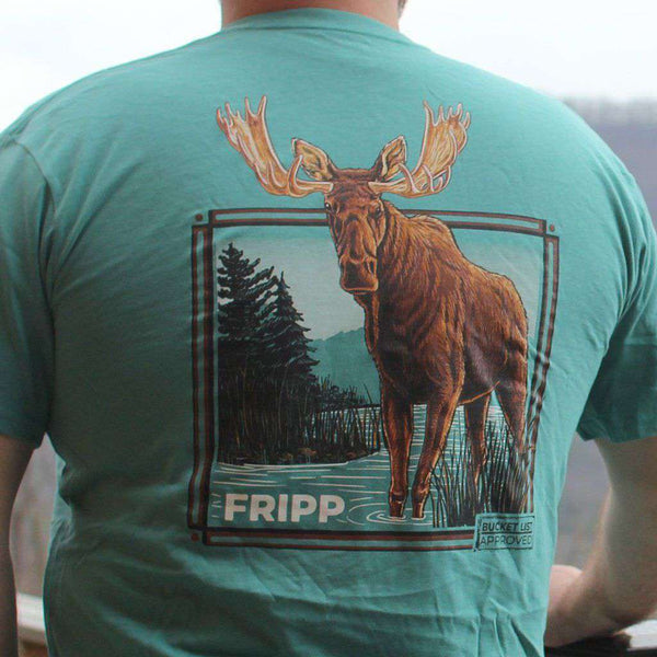 Fripp & Folly Bucket List Moose Tee by Fripp Outdoors