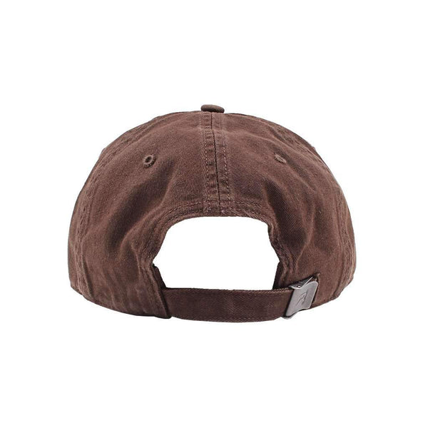 We Live For Saturdays Mallard Feather Twill Hat