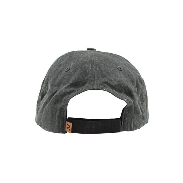 We Live For Saturdays Mallard Feather Waxed Cotton Hat
