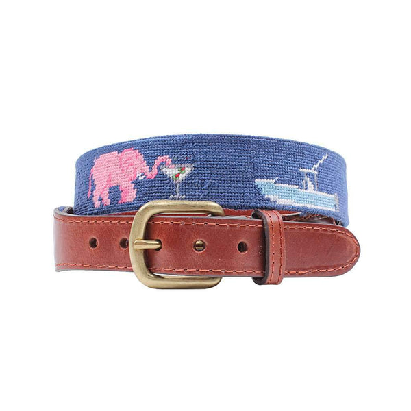 Smathers and Branson  Smathers Life Needlepoint Belt