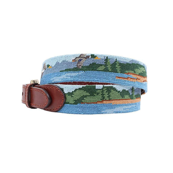 Great Outdoors Needlepoint Belt by Smathers & Branson