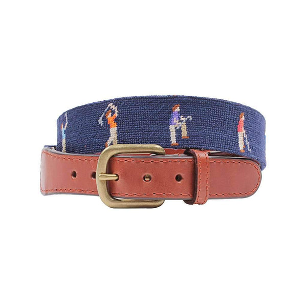 Smathers and Branson Milligan Needlepoint Belt
