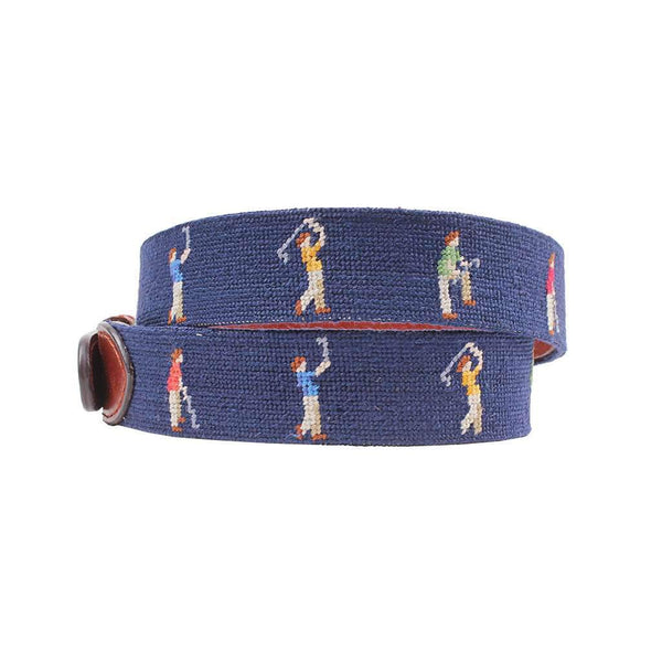 Mulligan Needlepoint Belt by Smathers & Branson