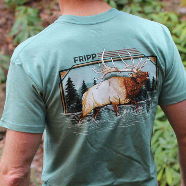 Fripp & Folly Bucket List Elk Tee by Fripp Outdoors