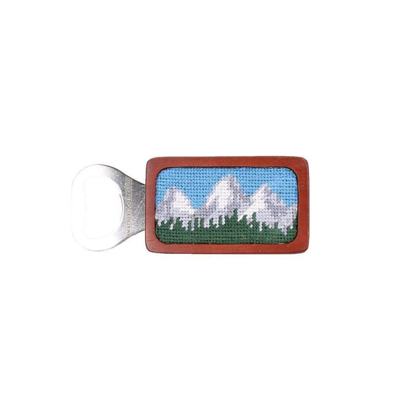 Smathers and Branson Tetons Needlepoint Bottle Opener by Smathers & Branson