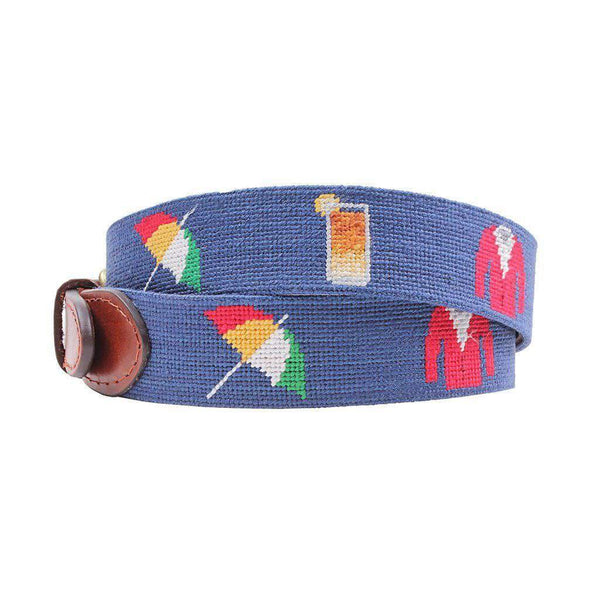 Smathers and Branson Arnold Palmer Needlepoint Belt by Smathers & Branson