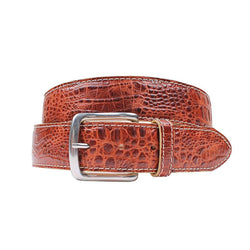 Country Club Prep Travis Moc Croc Belt by Country Club Prep