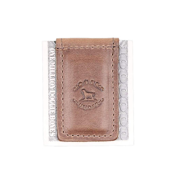 Over Under Clothing Horween Money Clip by Over Under Clothing