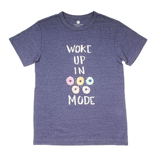Woke Up in Doughnut Mode Tee by Lauren James