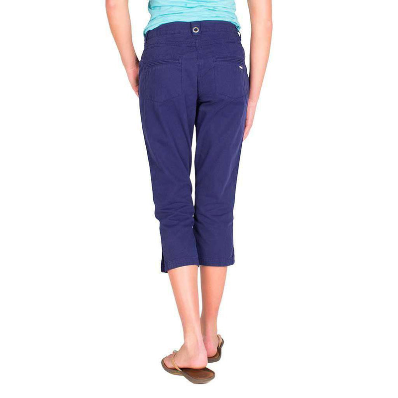Marine Pant in Navy by Saint James  - 2
