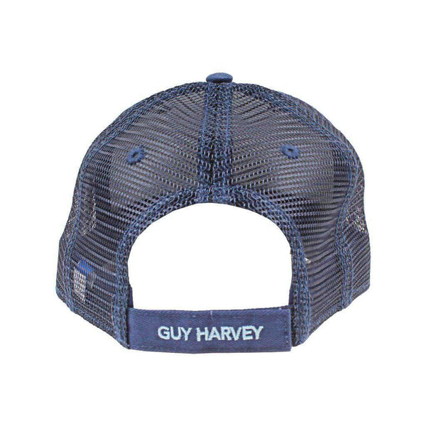 Circle Sail Logo Mesh Back Hat by Guy Harvey