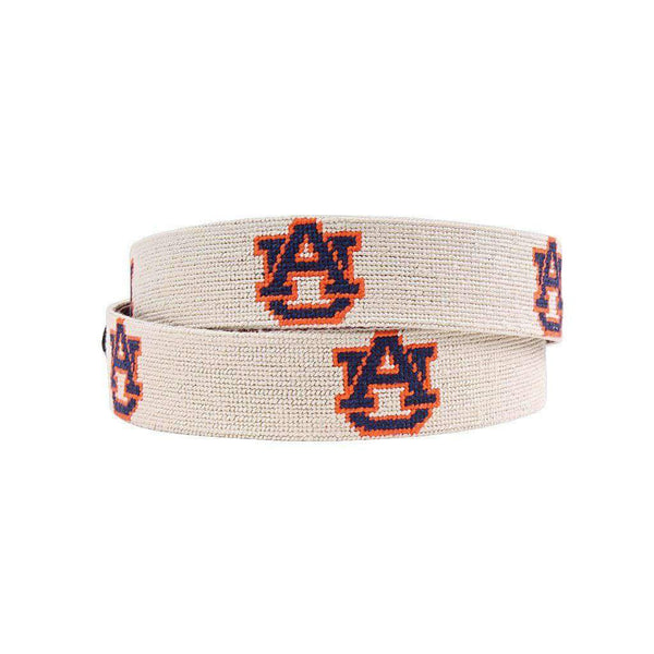 Smathers and Branson Auburn University Needlepoint Belt by Smathers & Branson