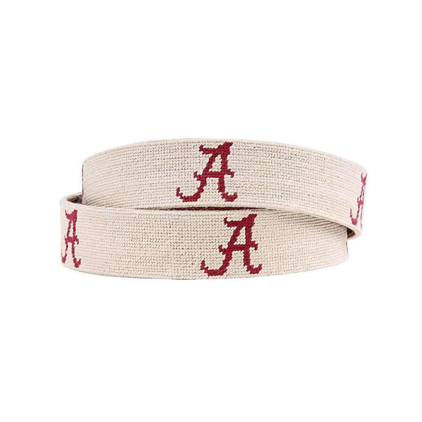 Smathers and Branson University of Alabama Needlepoint Belt by Smathers & Branson
