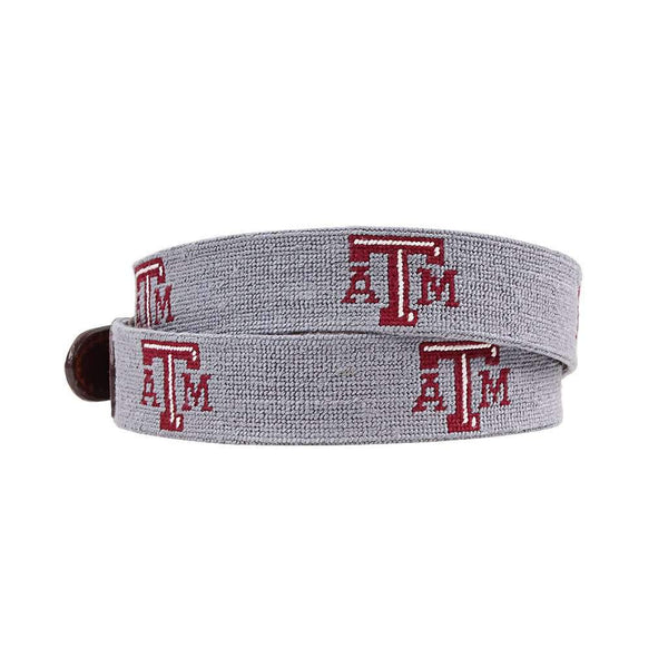 Smathers and Branson Texas A&M University Needlepoint Belt by Smathers & Branson