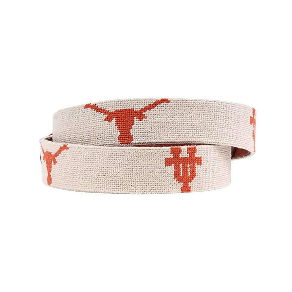 Smathers and Branson University of Texas Needlepoint Belt by Smathers & Branson