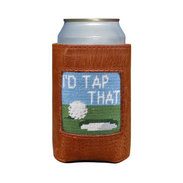 I'd Tap That Needlepoint Can Cooler by Smathers & Branson