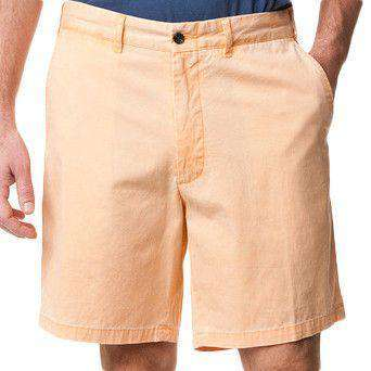 Island Canvas Short in Sherbet by Castaway Clothing  - 1