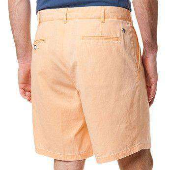 Island Canvas Short in Sherbet by Castaway Clothing  - 2