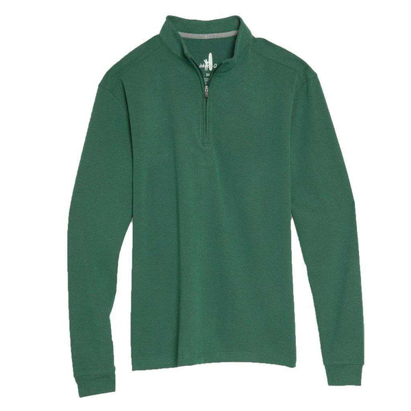 Johnnie-O Brady Microfleece 1/4 Zip Pullover by Johnnie-O