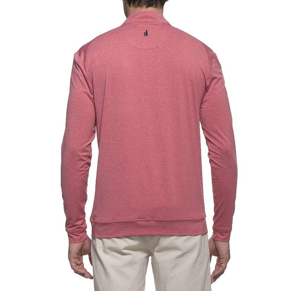 Longshanks Flex Prep-Formance 1/4 Zip Pullover in Cardinal by Johnnie-O