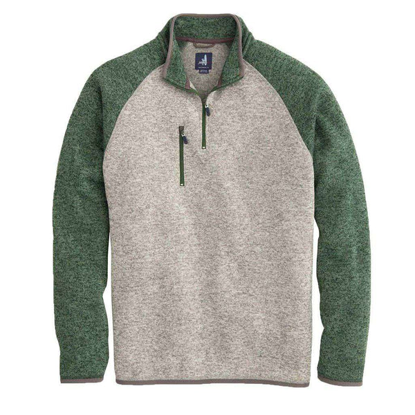 Johnnie-O Alberta 1/4 Zip Sweater Knit Fleece Pullover by Johnnie-O