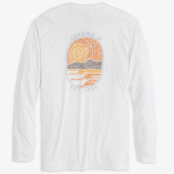 4 Waves Long Sleeve T-Shirt by Johnnie-O