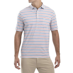 Bale Stripe 4 Button Polo by Johnnie-O