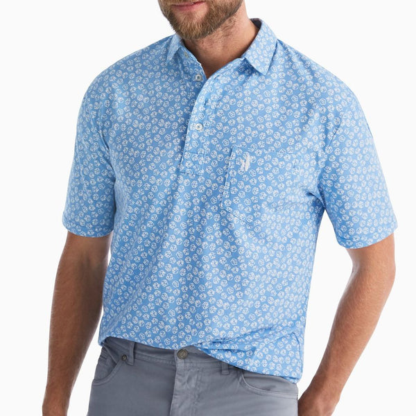The Original 4-Button Polo Kevin Print by Johnnie-O