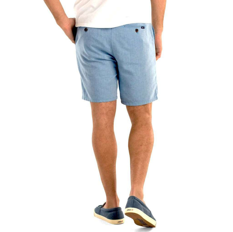 Johnnie-O Slater Double Faced Cotton Linen Shorts by Johnnie-O