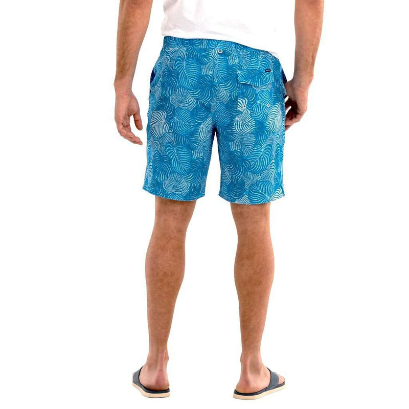 Johnnie-O Saha Half Elastic Surf Shorts by Johnnie-O