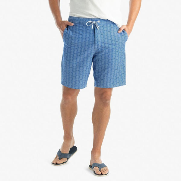 Jumbie Half Elastic Surf Short by Johnnie-O