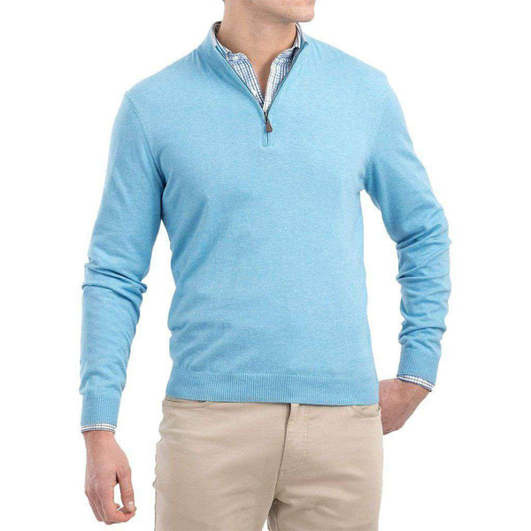 Johnnie-O Bailey 1/4 Zip Sweater by Johnnie-O