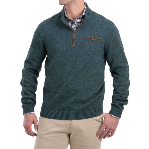 Johnnie-O Vernon 1/4 Zip Merino Wool Sweater by Johnnie-O