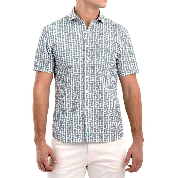 Johnnie-O Lagos Hangin' Out Short Sleeve Button Down Shirt by Johnnie-O