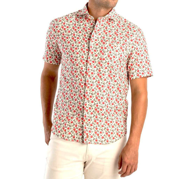 Johnnie-O Porto Hangin' Out Short Sleeve Button Down Shirt by Johnnie-O