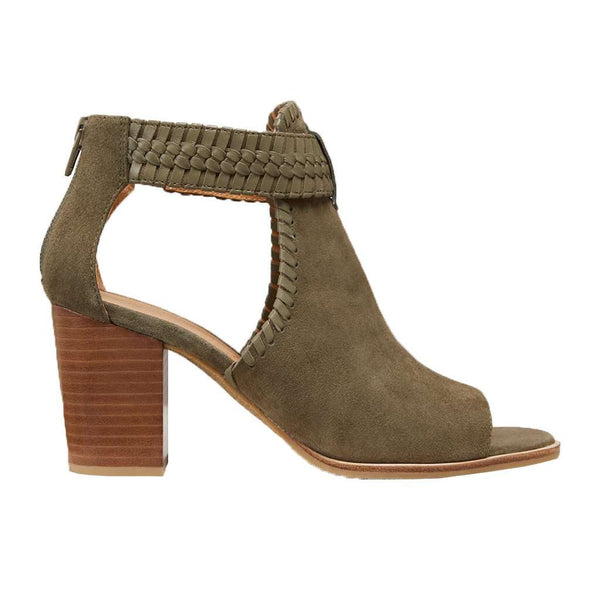 Jack Rogers Tinsley Suede Open Toe Bootie by Jack Rogers