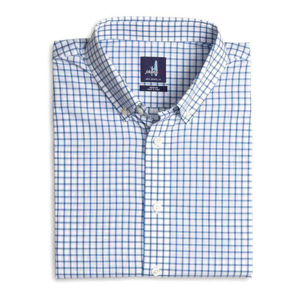 Johnnie-O Alumni Button Down Shirt in Pacific