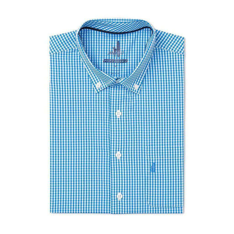 Johnnie-O Augusta Prep-Formance Button Down in Oasis