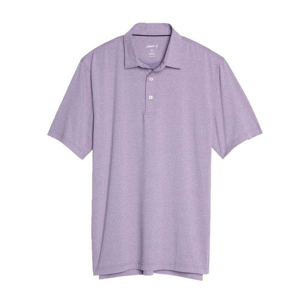 Johnnie-O Birdie Prep-Formance Polo in Purple Haze