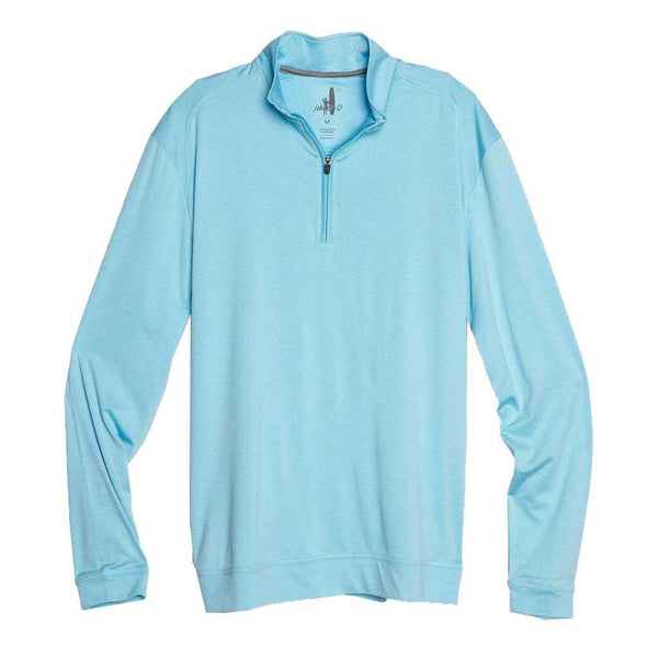 Johnnie-O Flex Prep-Formance 1/4 Zip Pullover in Sea