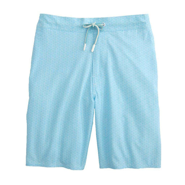 Johnnie-O Folly Half Elastic Surf Shorts in Breaker