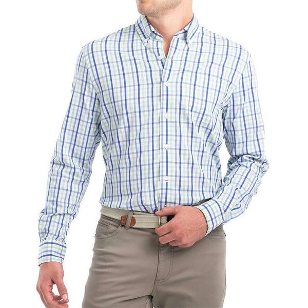 Johnnie-O Gaffton Prep-Formance Button Down Shirt highlighter