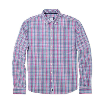 Johnnie-O Harbour Hangin'  Out Button Down Shirt in Gemini Blue